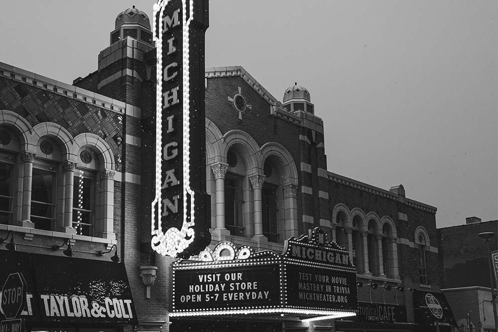 Michigan State Theatre.